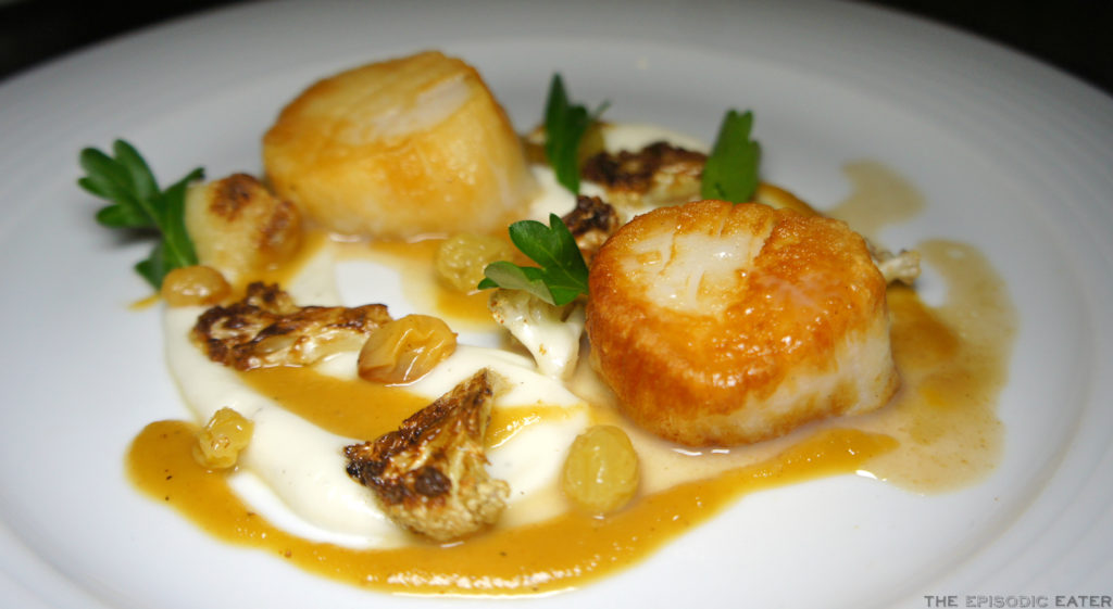 Steak House In Long Beach Part - 38: With The Ingredients Being Listed So Simply, I Was Expected An Equally  Simple Dish. Absolutely Wrong! The Sweetness Of The Caramelized Cauliflower  And ...